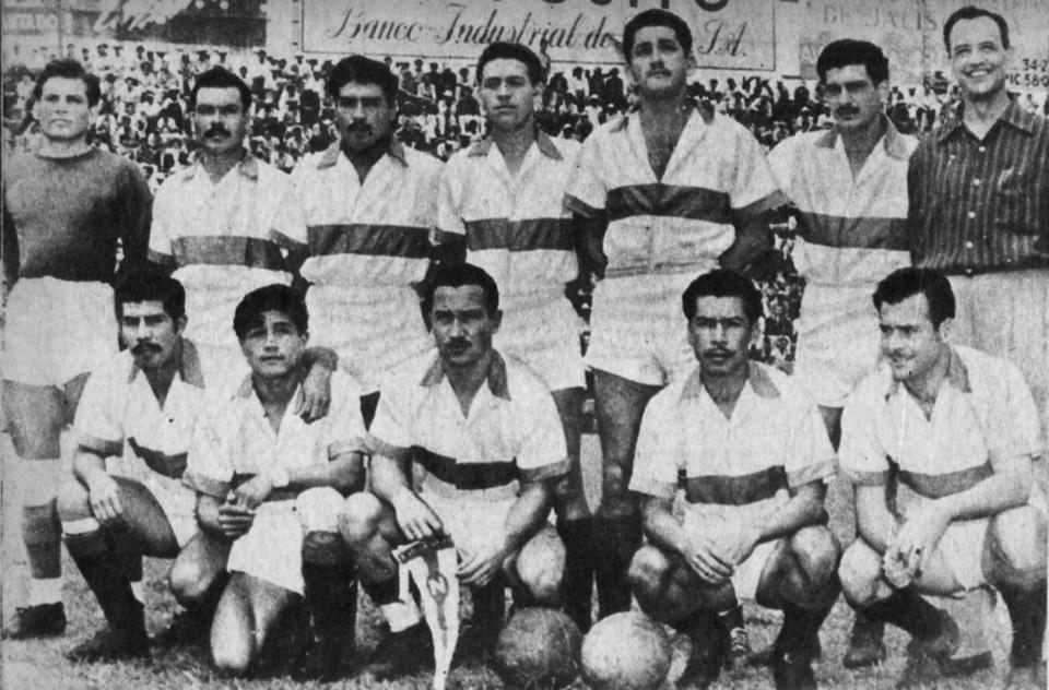 Equipo Zacatepec en los años cincuentas