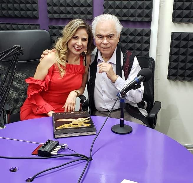 Bárbara Benítez con Víctor Manuel Contreras