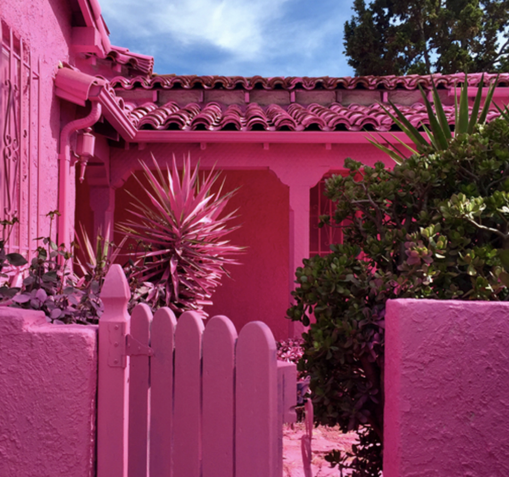 Arqutectura Rosa Mexicao
