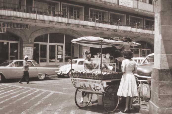 Cuernavaca en los años cincuentas