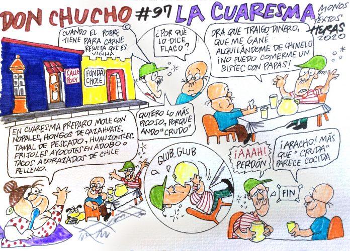 Historieta Don Chucho 97, Por Enrique Heras