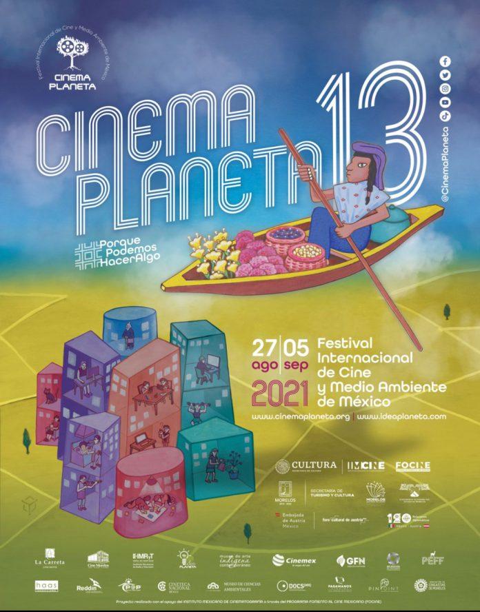 cartel 13 edicion de Cinema Planeta